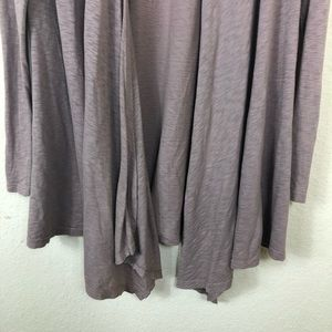fresh produce Sweaters - Euc Fresh Produce open long taupe knit cardigan S